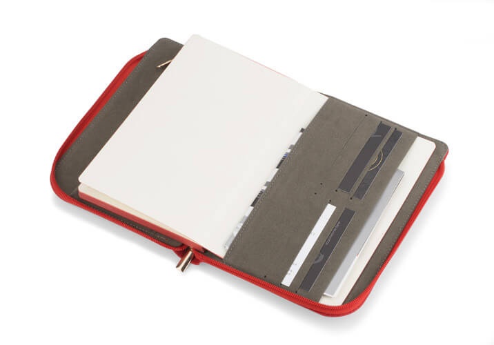 notebook a5 coli rosu deschis 2