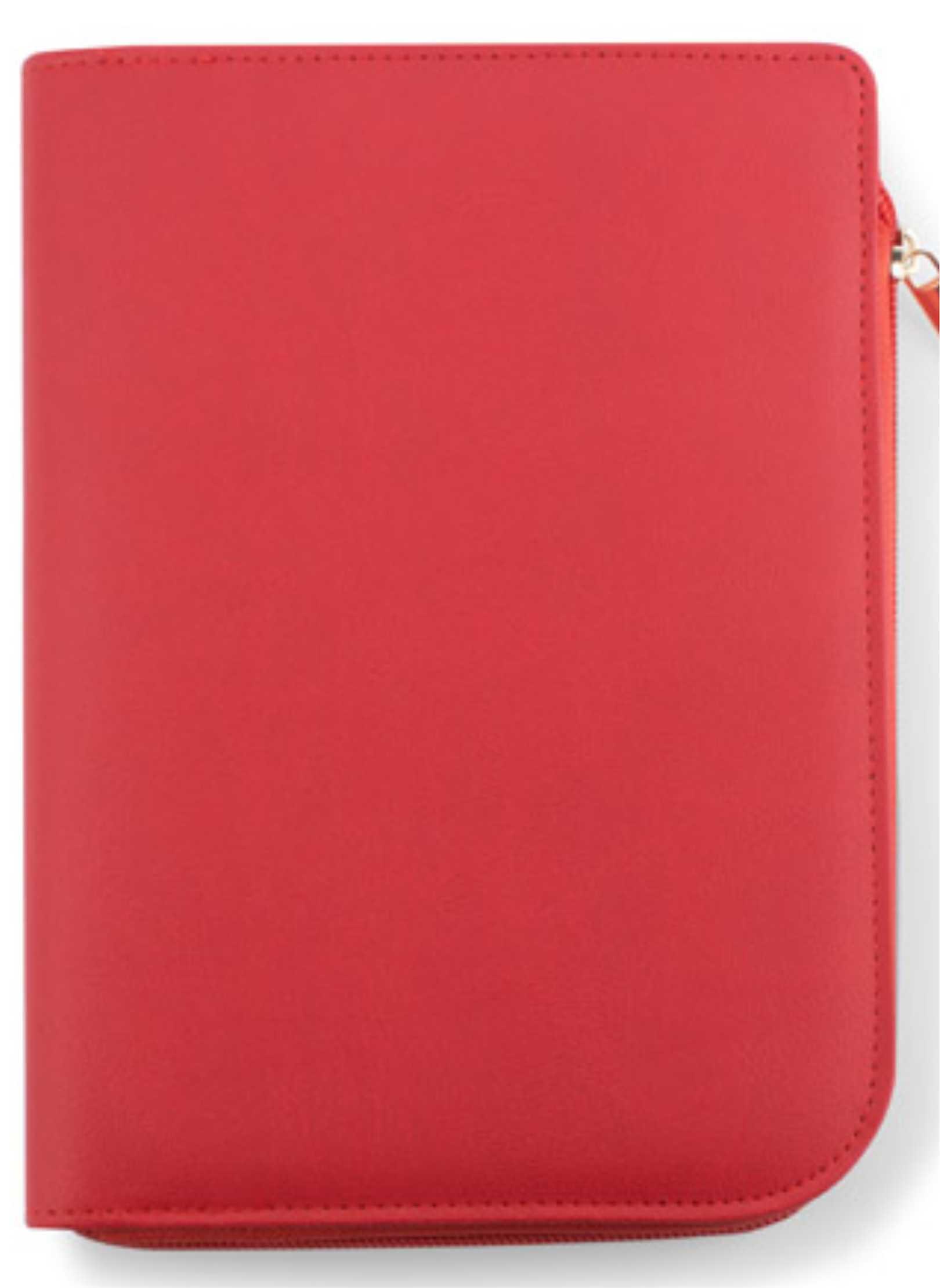 notebook a5 coli rosu