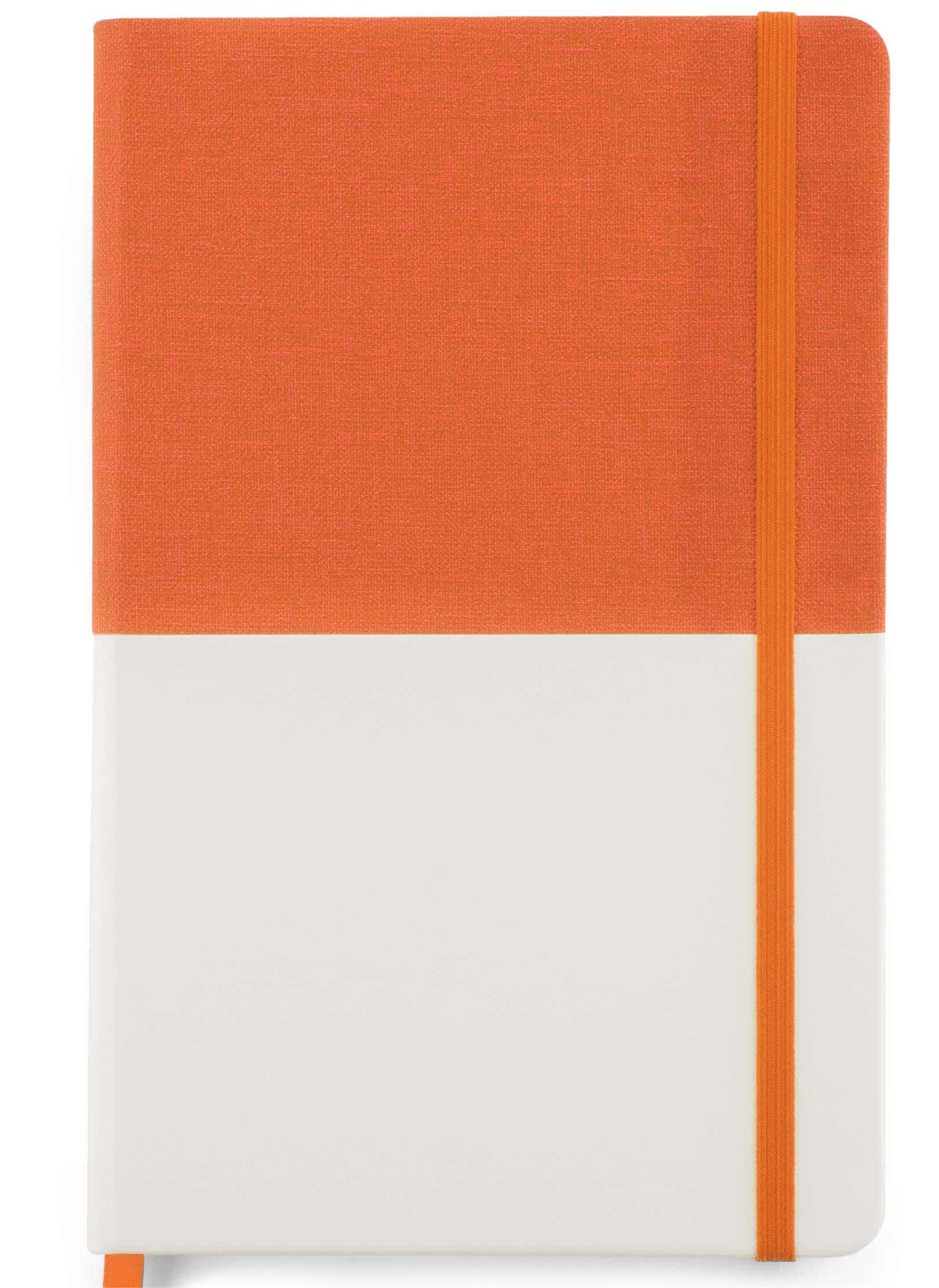 notebook twin portocaliu