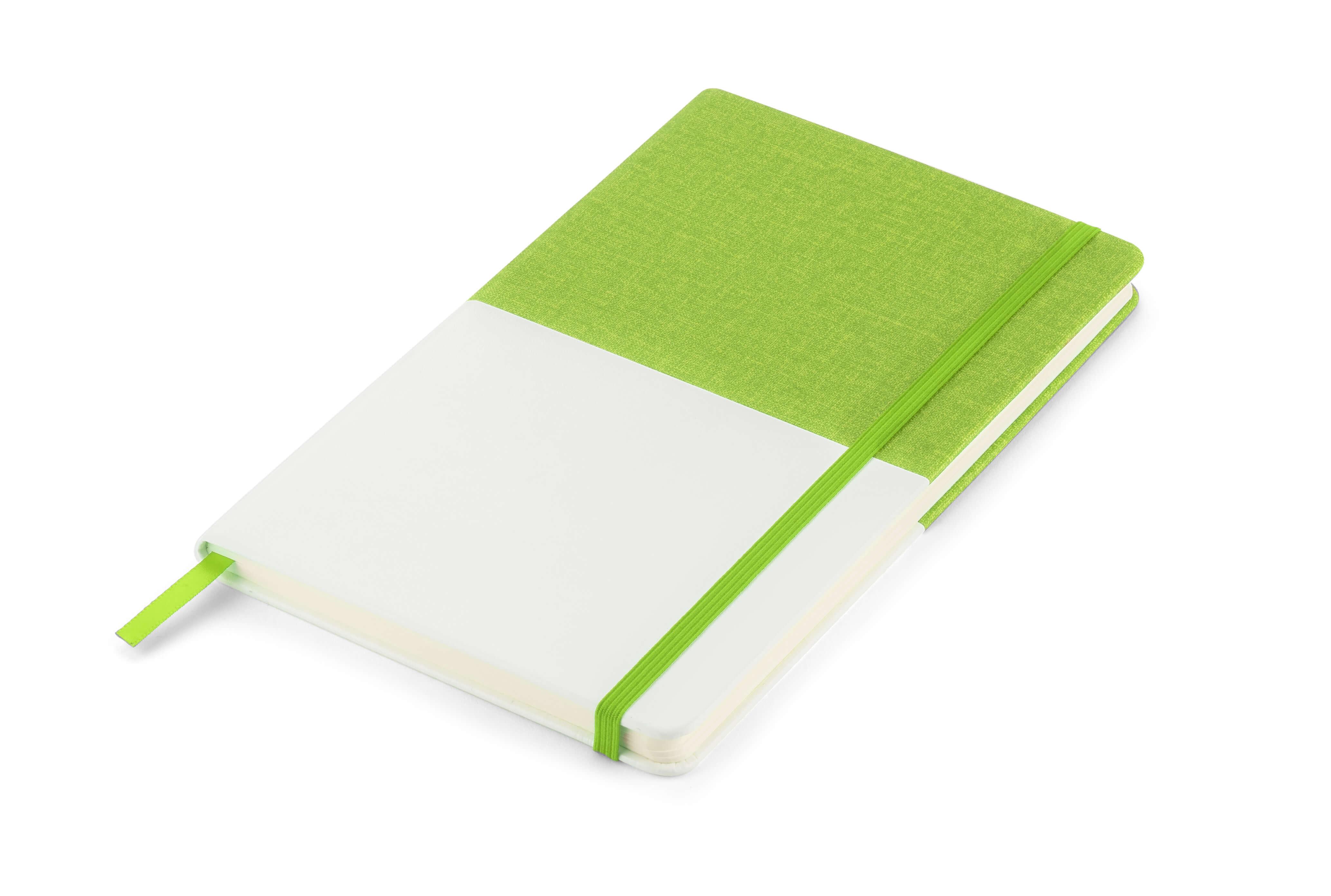 notebook twin verde perspectiva