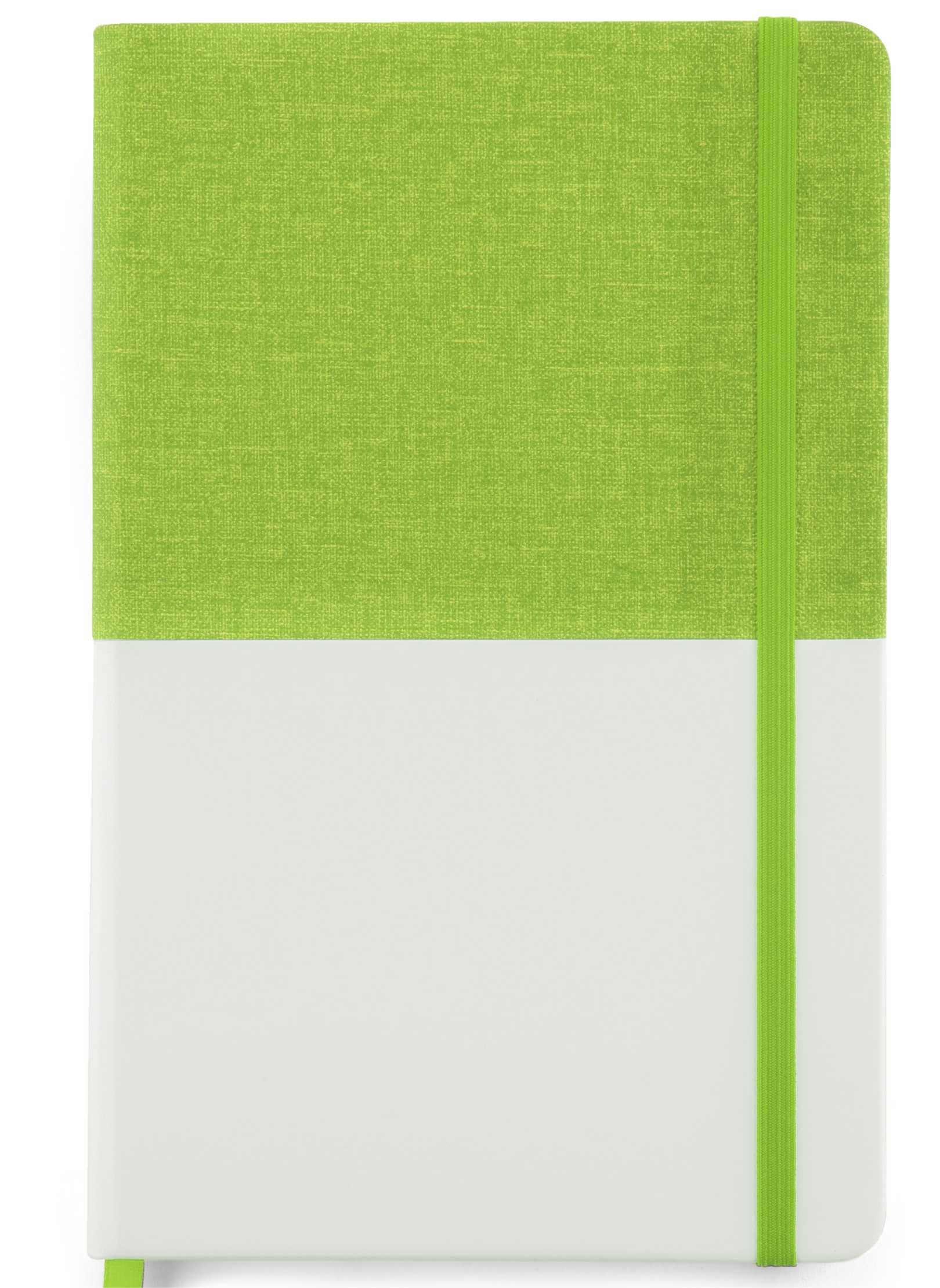 notebook twin verde