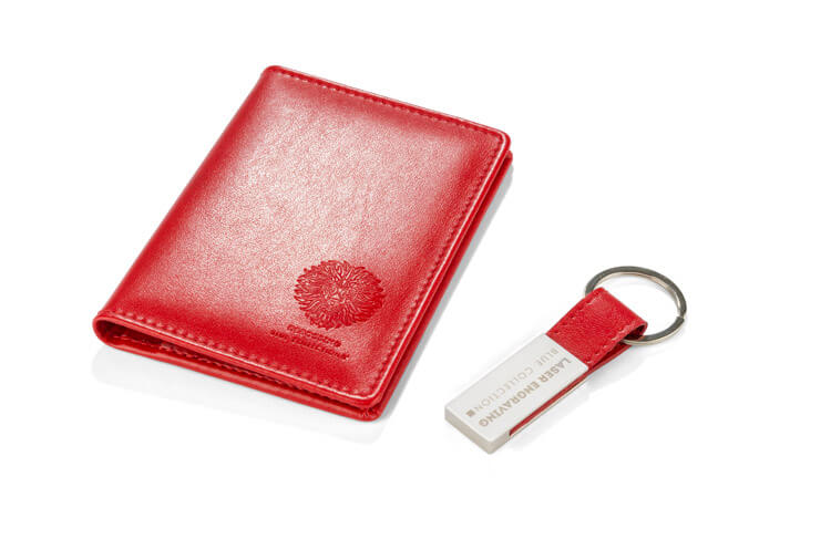set cadou corporate cameron rosu personalizat